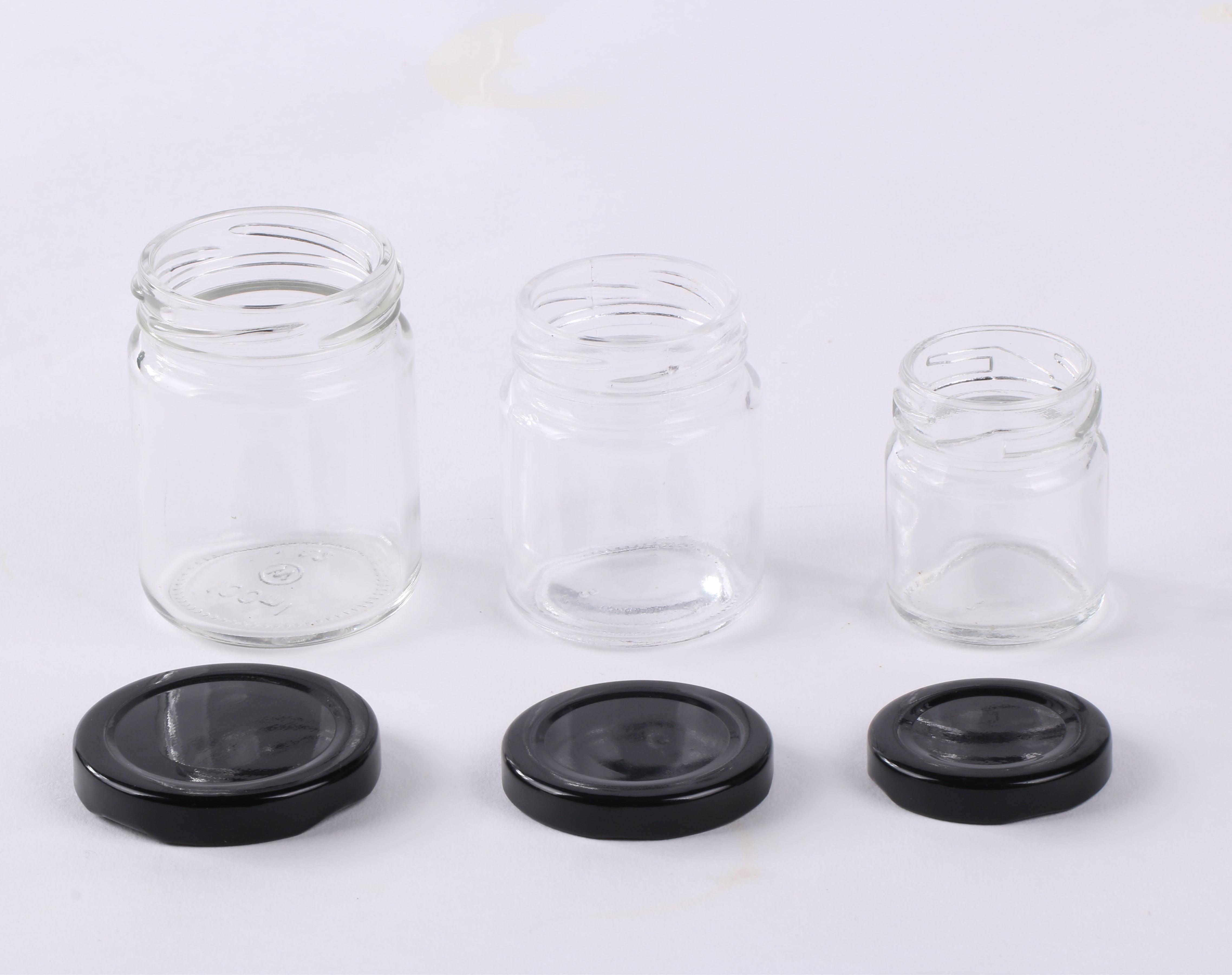 glass jam jar