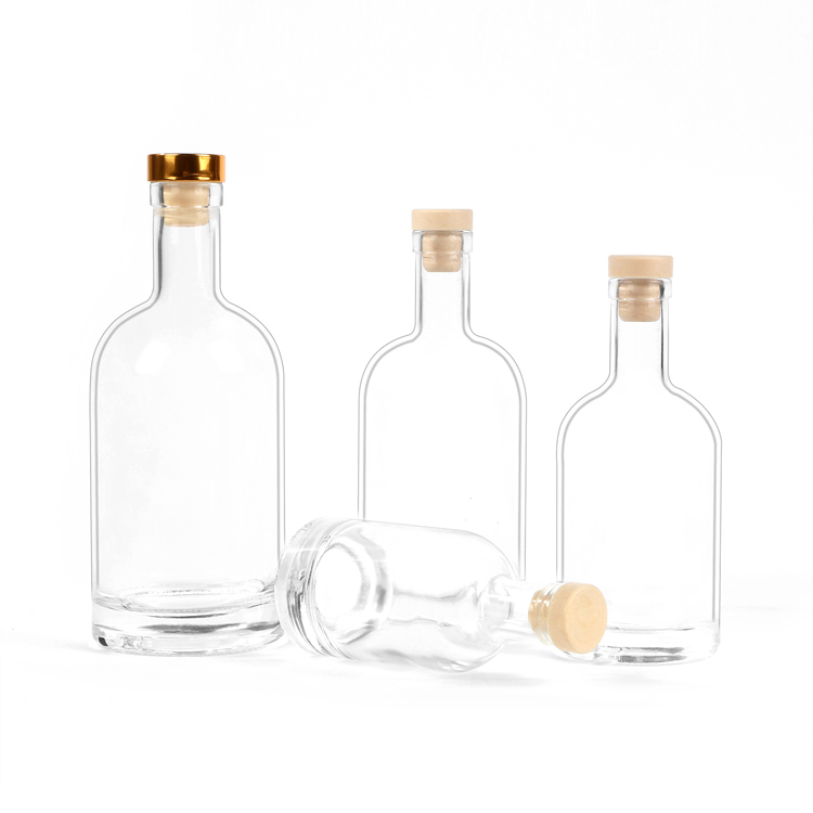 glass liqour bottle