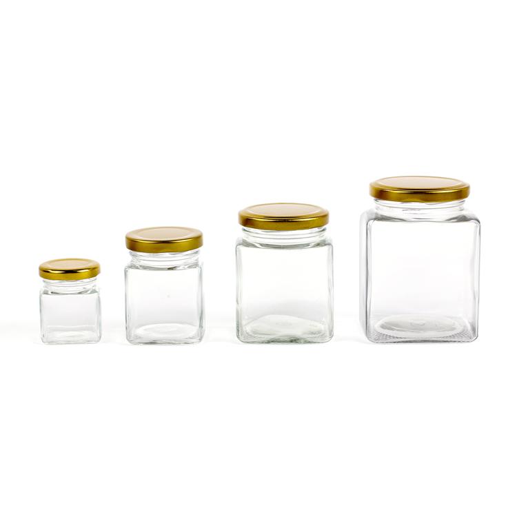 glass jar for honey