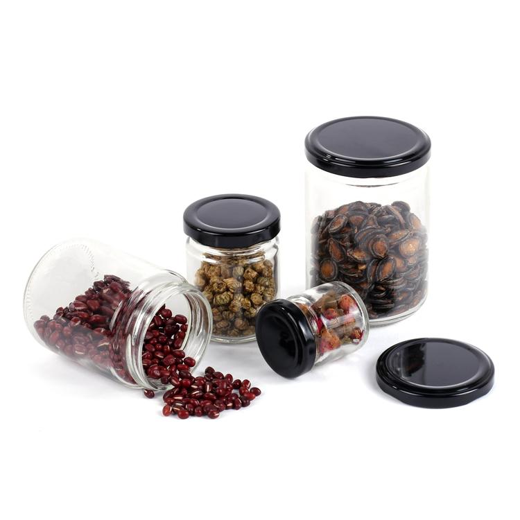 glass food jar